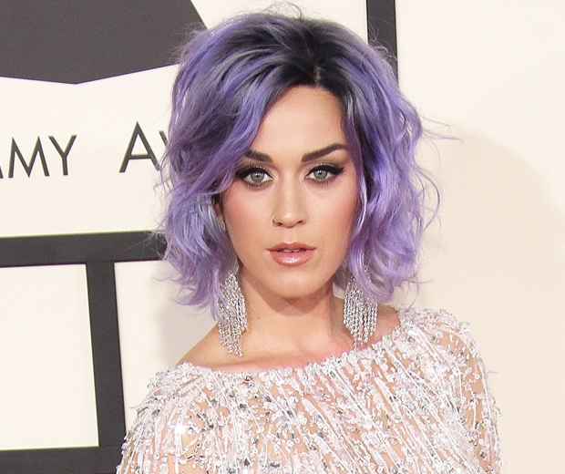 katy perry grammys purple hair