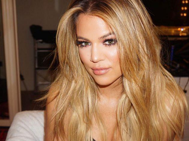 Khloe Kardashian debuted her blonde 'do in May