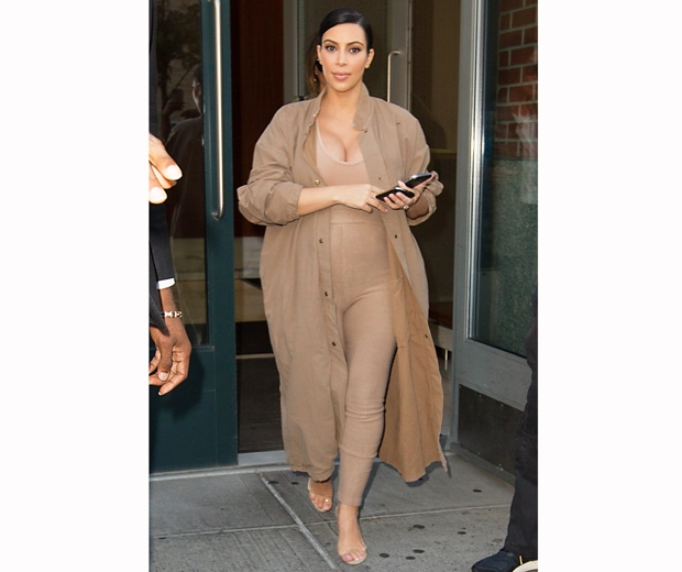 kim kardashian nude outfit