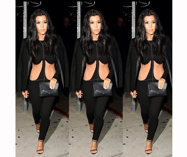 Kourtney Kardashian is looking hotter than ever... Miaow!
