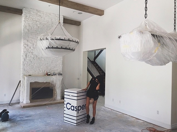 Kylie Jenner allowed us a first peek into her new £1.8 million mansion