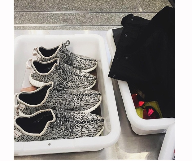 Yeezy 350 Boost trainers