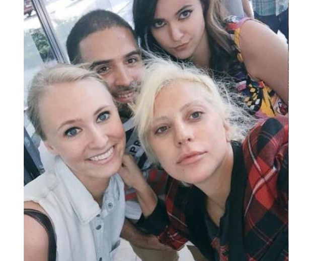 Lady Gaga's no makeup selfie