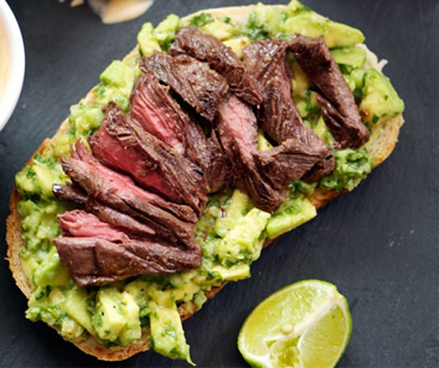 Steak & Avocado Pizza (Picture: SeriousEats.com)