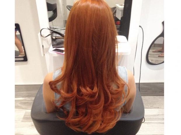 pumpkin hair