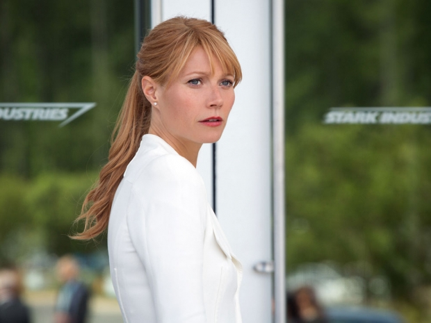 Gwyneth Paltrow as Pepper Potts in Iron Men.