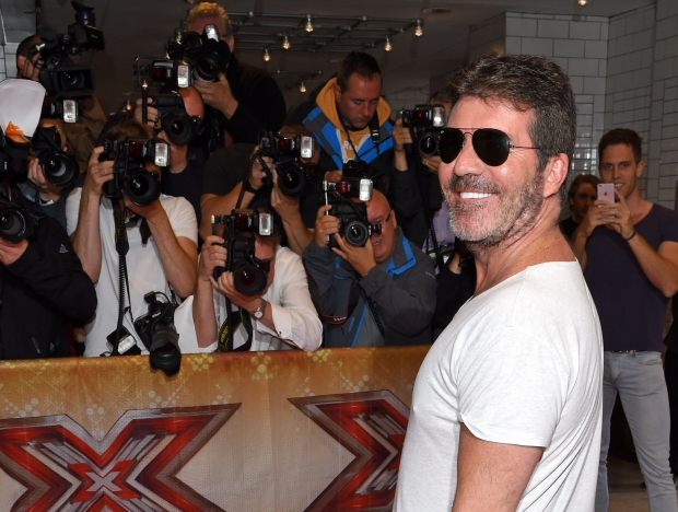 Simon Cowell arrives at the X Factor auditions