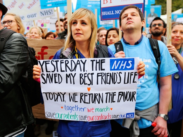 Junior Doctors on the march