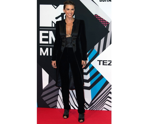 Ruby Rose in Armani