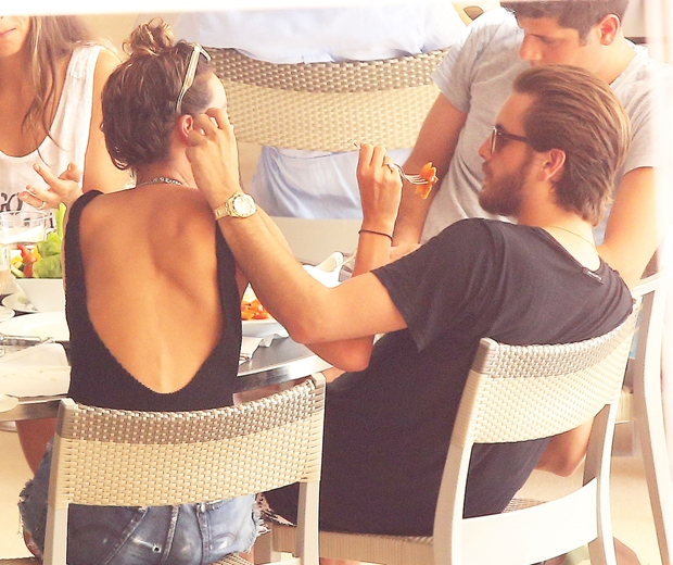 Scott Disick and Chloe Bartoli looking cosy in Monaco...