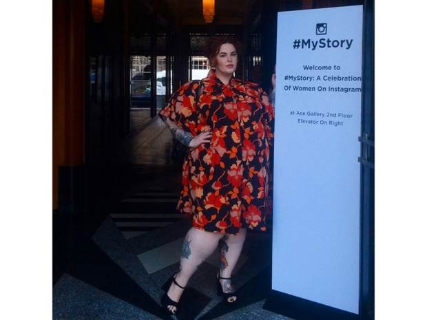 Tess Holliday at the launch of #MyStory