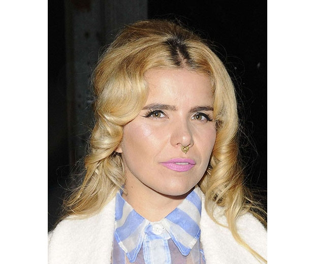 Paloma Faith favours a septum piercing
