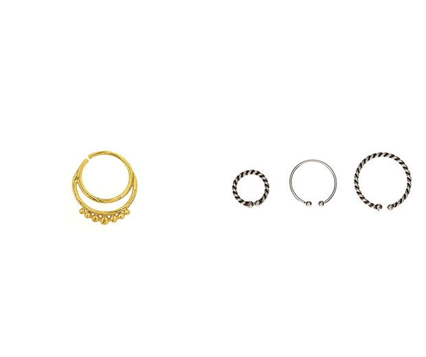 Nab a clip on septum ring from the high street