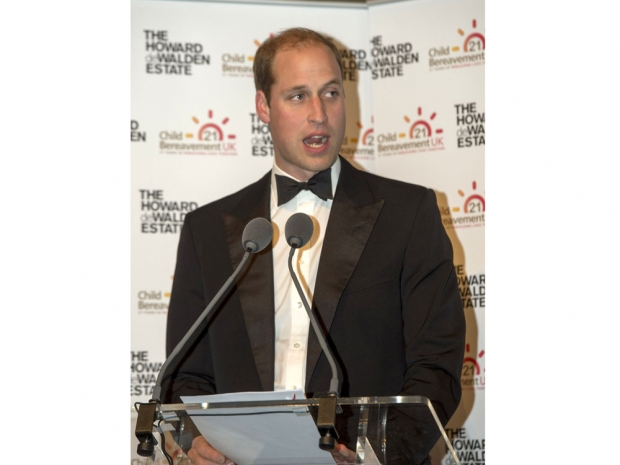 Prince William delivery his speech