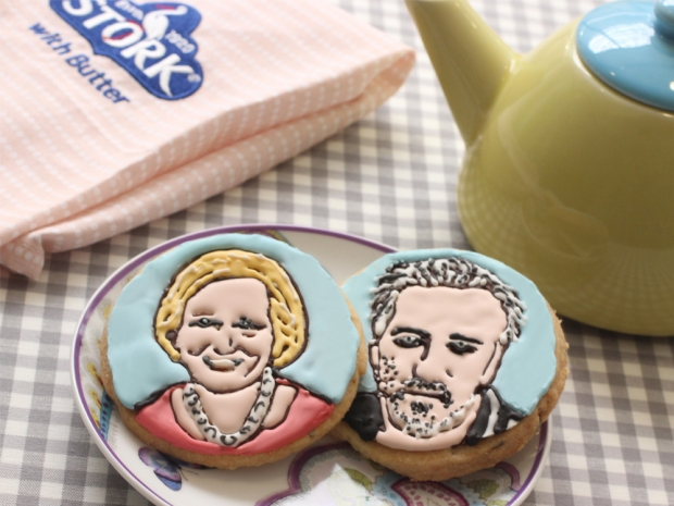 Stork Paul Hollywood and Mary Berry biscuits