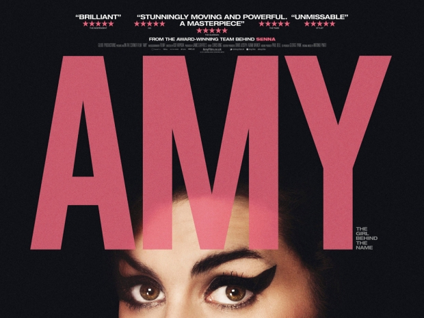 The poster for 'Amy', the 2015 documentary