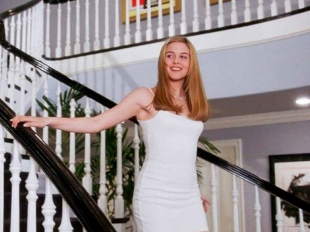 Cher wearing Calvin Klein in Clueless.