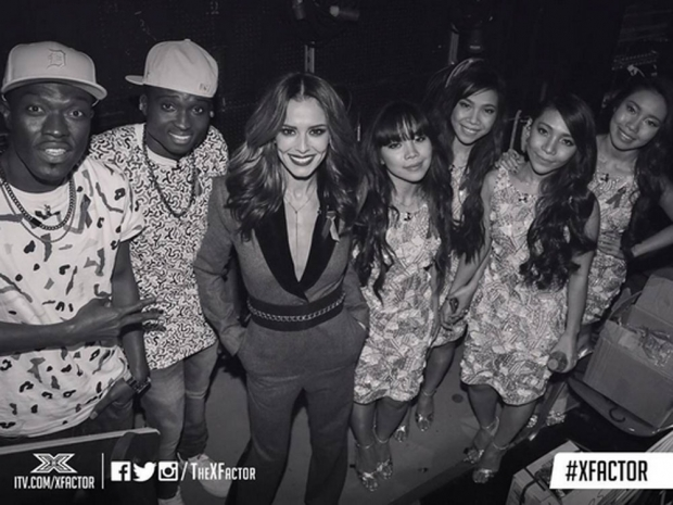 Cheryl with Reggie N Bollie and Fourth Impact