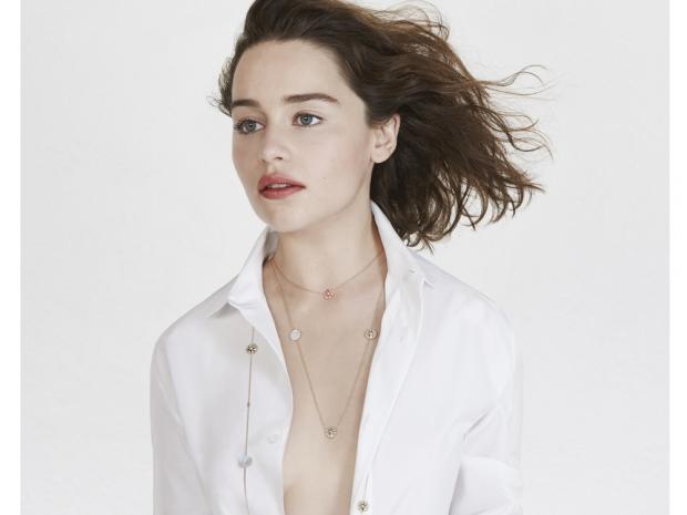 Emilia Clarke for Dior Jewellery