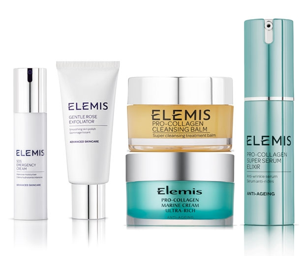 Elemis skincare products