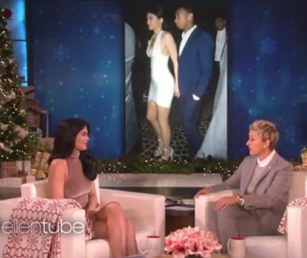 Kylie Jenner was grilled about Tyga on The Ellen Show