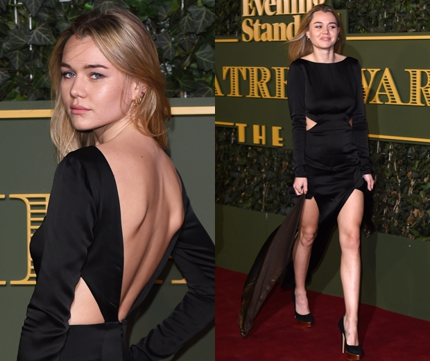 immy waterhouse at at Evening Standard Theatre Awards