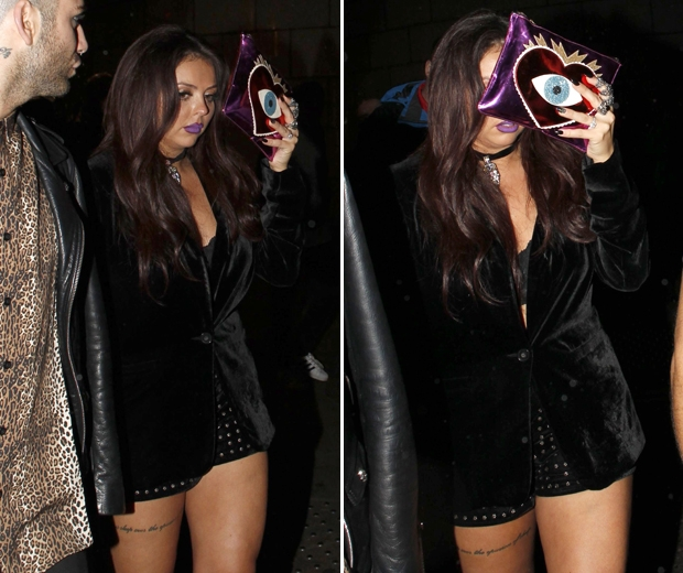 Jesy nelson little mix crying after album launch party
