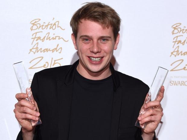JW Anderson at the British Fashion Awards