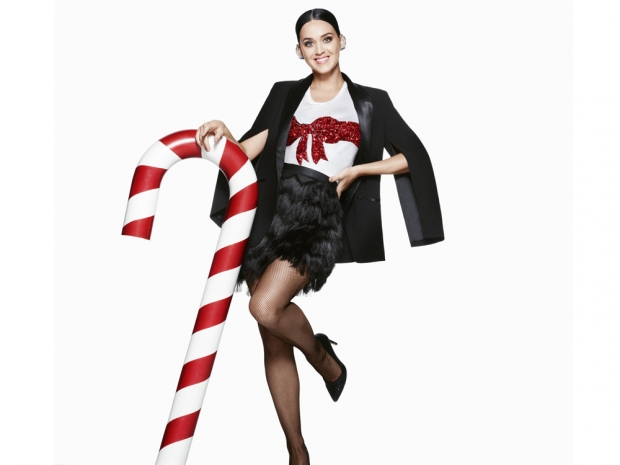 Katy Perry is the star of H&M's Christmas Campaign