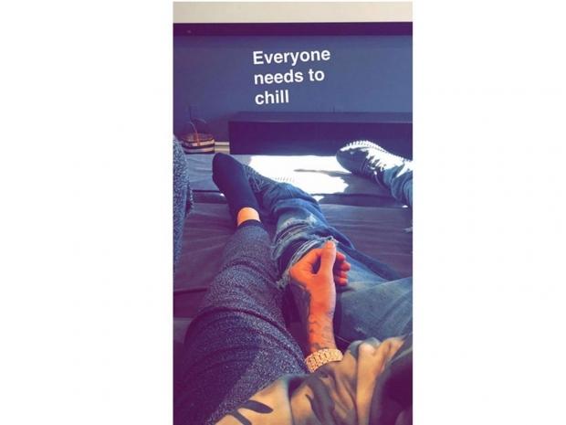 Kylie Jenner's Snapchat