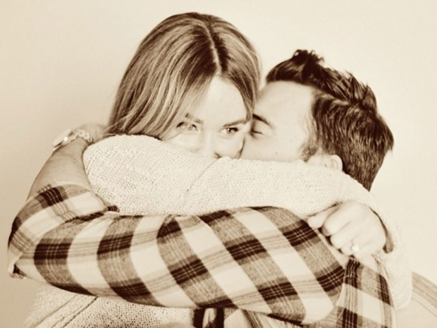 Lauren Conrad and husband William Tell.