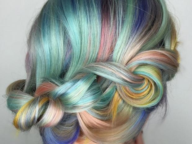 macaron hair plait