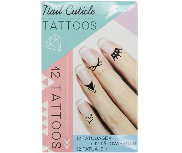 Nail Cuticle Tattoo