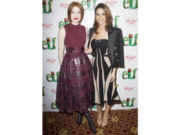 Nicola Roberts and Cheryl Fernandez-Versini