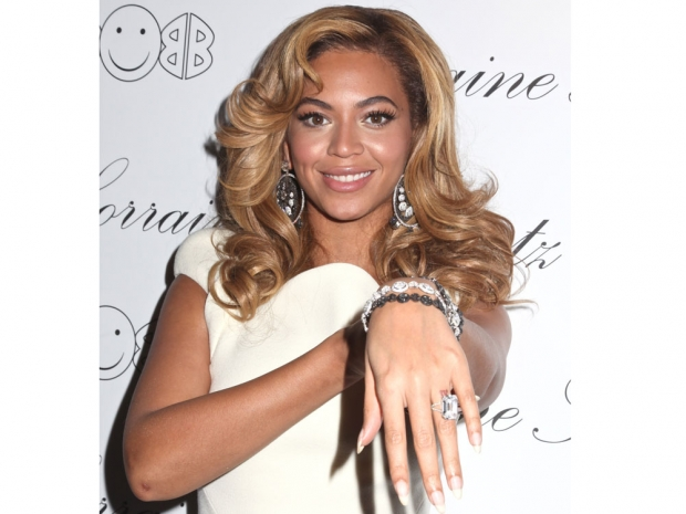 Beyonce has to be the Queen of diamonds