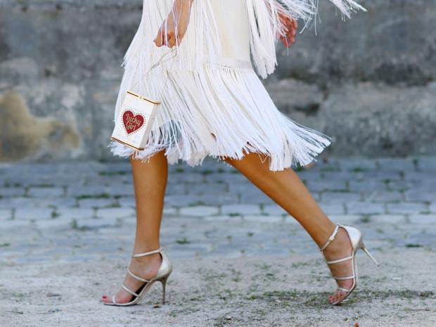 A street styler wearing heels.
