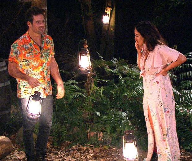 spencer matthews and vicky pattinson on i'm a celebrity get me out of here