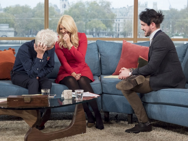 Holly Willoughby, Colin Cloud and Phillip Schofield