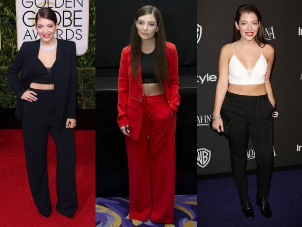 Lorde trouser suit