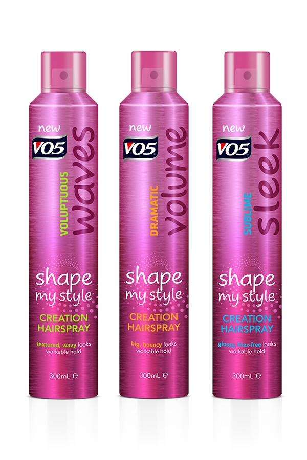 VO5 Party hair Products