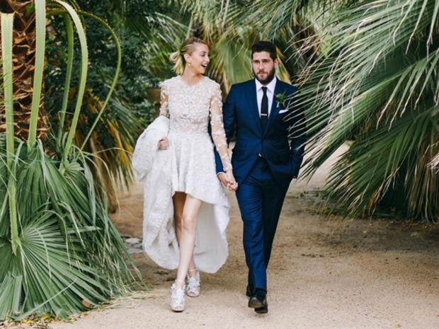 Whitney Port marrying Tim Rosenman.