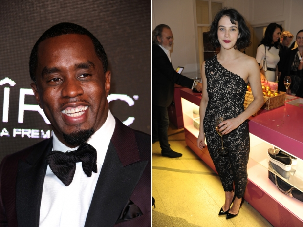 P.Diddy and Jessica Brown-Findlay