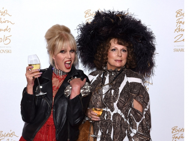 Ab Fab storm the BFA red carpet.