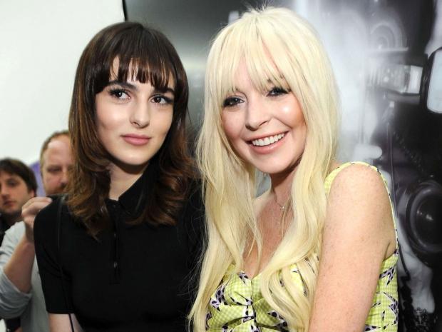Ali Lohan and Lindsay Lohan