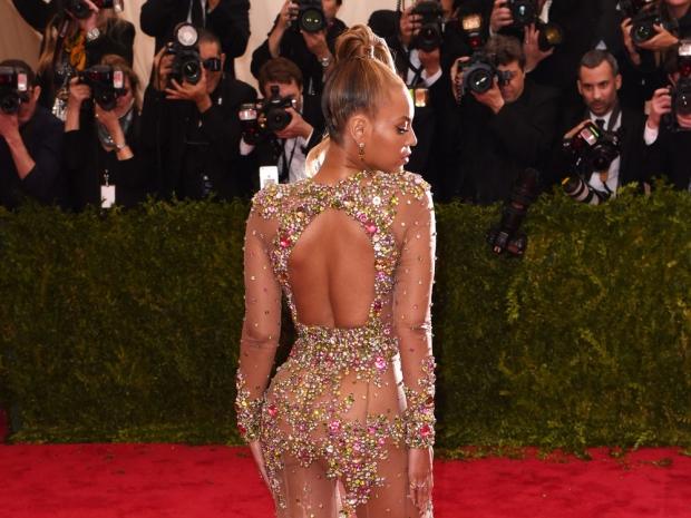 Beyonce at the Met Gala.