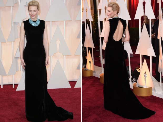 Cate Blanchett at the 2015 Academy Awards.