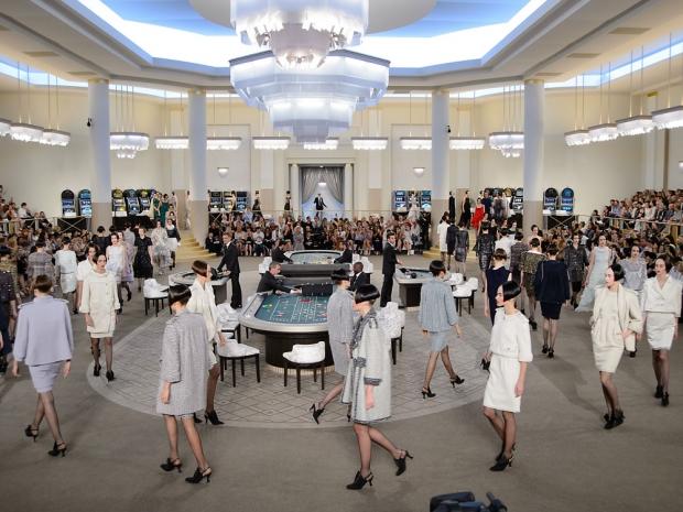 Chanel's Haute Couture casino.