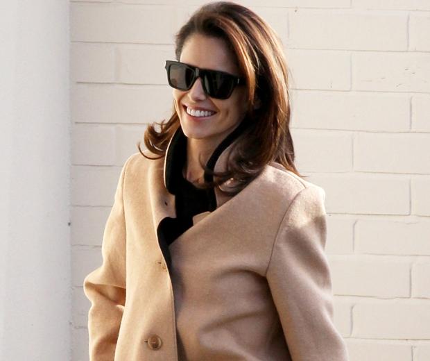 cheryl camel coat