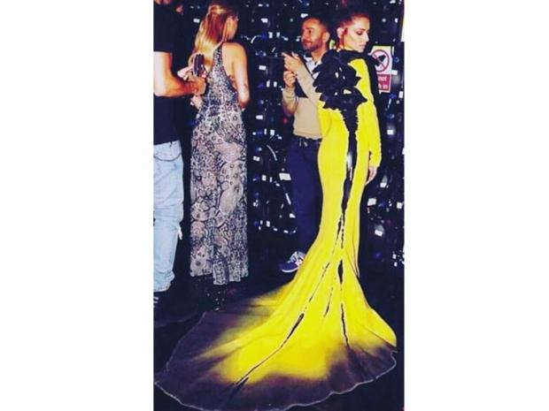 cheryl fernandez-versini x factor yellow dress