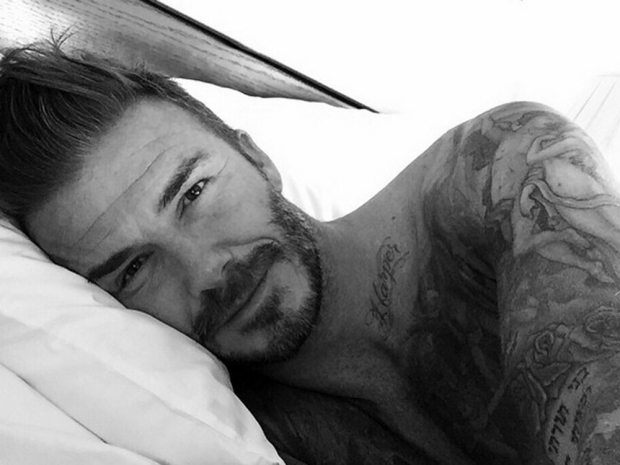 David Beckham.